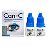 Can-C Eye Drops Vials with Eye Drop Guide Bundle