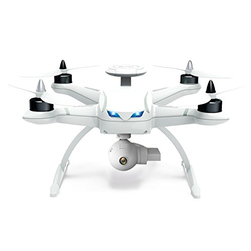 Aosenma CG035 Quad Copter Air Drone Double GPS 2.4Ghz RC Helicopter with Motor Brushless 20 Mins Flight Time 6-Axis Gyro Following Drone Headless Mode (Assemabled with 5.8G HD+ 1080p Camera) - White