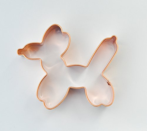 Biscuit Entertainer - ecrandal Balloon Animal copper cookie cutter
