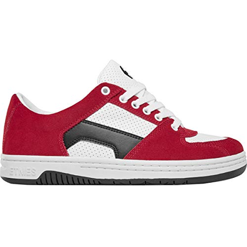 Etnies Senix Lo Skate Shoes Mens Sz 11 Red/White/Black