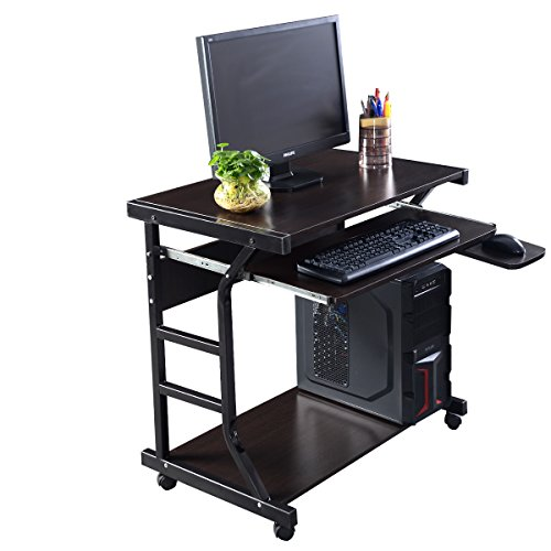 Desk computer table home office furniture workstation laptop student study new small corner Home furniture on amazon