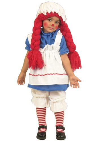 Charades ' Little Rag Doll Costume Large (10-12)