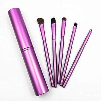 1b518a11809c Amazon.com: 5Pcs Travel Portable Mini Eye Makeup Brushes Set Reals ...