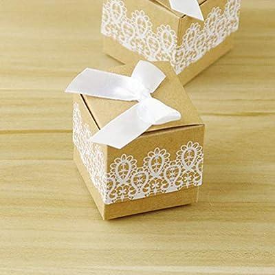 20 unids Cajas de dulces Papel Kraft Azúcar Bowls Nuevo estilo ...