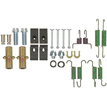 Pins and Hardware ACDelco 18K2087 Professional Rear Parking Brake Hardware Kit with Springs Retainers