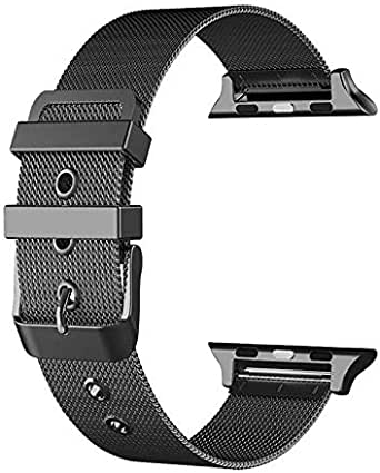 Bracelet Stainless Steel Band For Smart Watch Series 1/2/3 42mm Bracelet Strap for iWatch Series Black