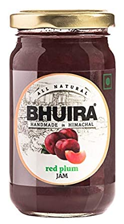 Bhuira Red Plum Jam, 240grams