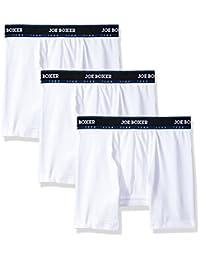 Joe Boxer Men's 3-Pack Athletic Boxer Brief