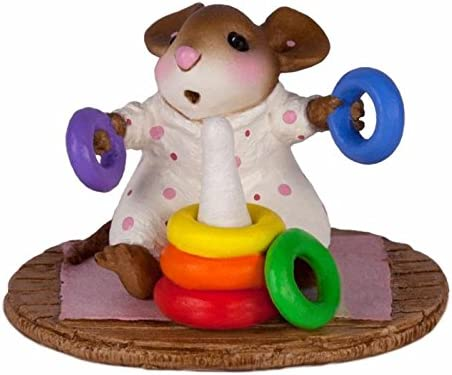 Wee Forest Folk M-595b Rainbow Rings Girl New Christmas 2016