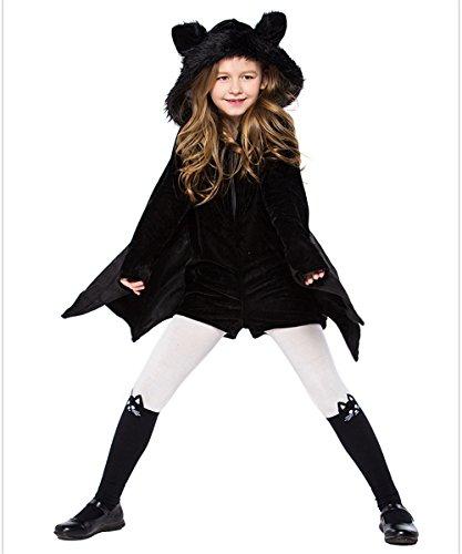 Full Win Kids Cozy Bat Costume Cute Jumpsuit