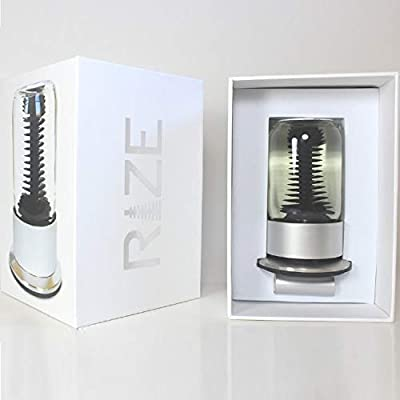 MTR Designs Rize Spinning Ferrofluid Display with Blue ferrofluid and LED Light: Toys & Games