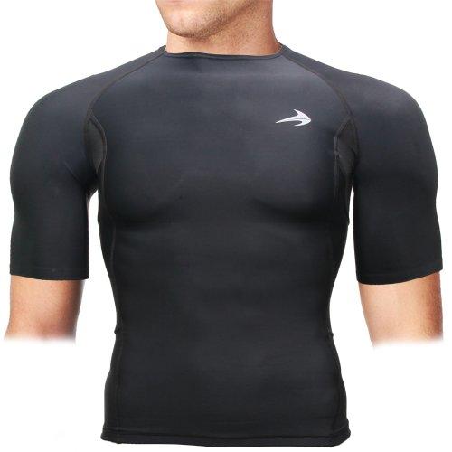 Compression Shirt Short Sleeve Top  Best Running T-Shirt & B