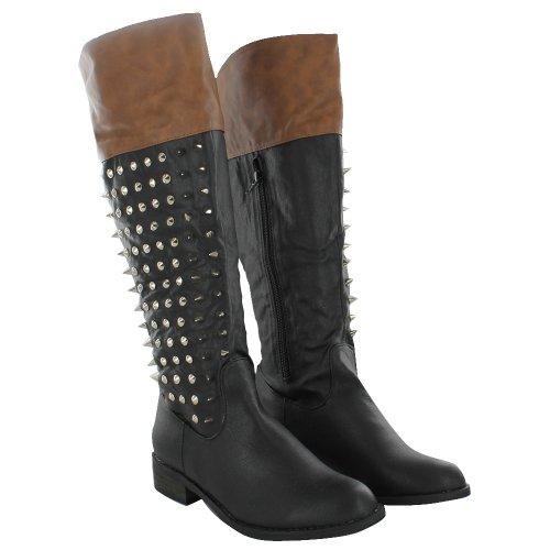 Footwear Sensation - Botas para mujer negro - Black Tan