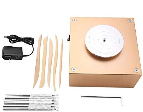 ミニdiy手作りセラミック陶器機12ボルト1500 rpm粘土作り陶器機セラミックdiyクラフト100-240ボルト(米国プラグ100-240V)