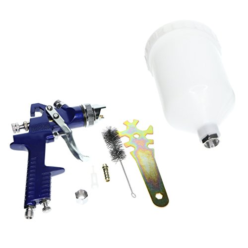 Homyl H827 600ML HVLP Spray Gun Air Spray Paint For Car Auto Repair Tool - 1.4mm by Homyl