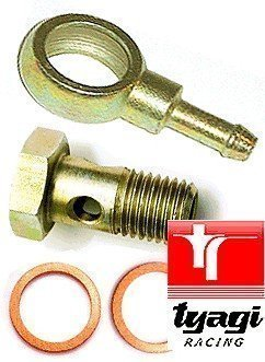 Tyagi Racing 10mm Banjo Bolt Fittings for 6mm Hose