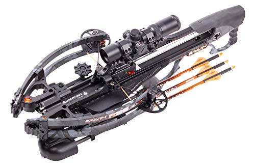 Ravin R26 Compact 400 FPS Crossbow With Helicoil Technology And Exclusive Predator Dusk Camo
