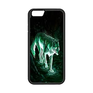 [Tony-Wilson Phone Case] For Apple Iphone 6 Plus 5.5 inch screen-IKAI0447472-Wolf,Wolves and Moon Pattern