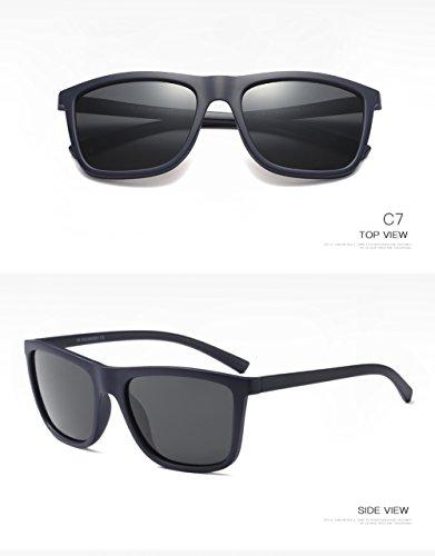 para C4 para Sol C4 Protección Polarizadas De 400 Mujer Hombre UV Aviator Gafas wqBIP4x