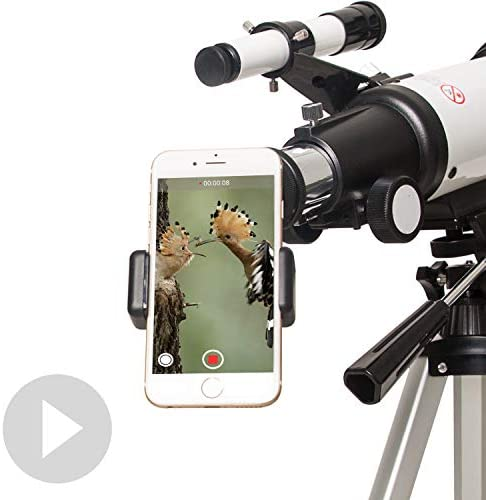 41eAwM8JxoL. AC  - Gskyer Telescope, 70mm Aperture 400mm AZ Mount Astronomical Refracting Telescope for Kids Beginners - Travel Telescope with Carry Bag, Phone Adapter and Wireless Remote