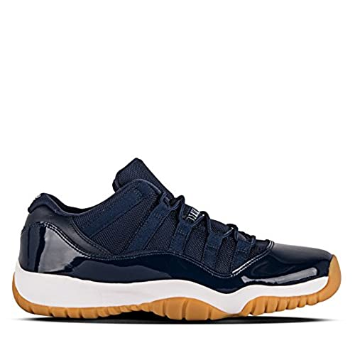 8e0d9a5e76c451 Air Jordan 11 Retro Low BG Kids Youth 528896-405 Navy Gum Bottom 85 ...