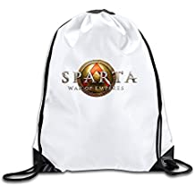 Classic Customized Design Sparta War Of Empires Video Game Online Drawstring Travel Sports Backpack Drawstring Backpack Travel Bag