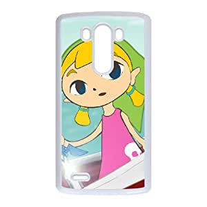 LG G3 Cell Phone Case White The Legend of Zelda The Wind Waker Aryll J5M3QW