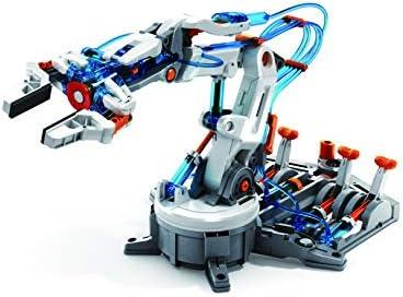 Elenco Teach Tech \u201cHydrobot Arm Kit\u201d Hydraulic Kit STEM Building Toy for Kids 10+