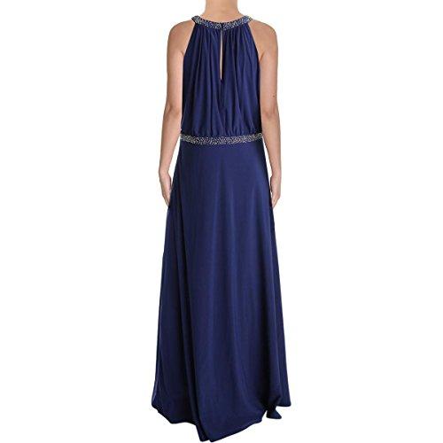 Mattox Formato Wrap Aidan 2 Maglia Blouson Capestro Dress Perline Blu Marino 71TTAqUnzw