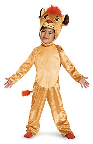 Kion Classic Toddler The Lion Guard Disney Costume, -