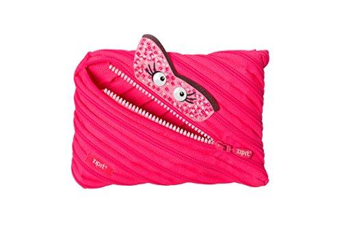 UPC 817758013882, ZIPIT Talking Monstar Jumbo Pencil Case, Pink