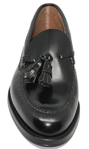 JOHN Negro con Borlas Mocasín de Zapato Vestir COLEMAN WXPOBq0