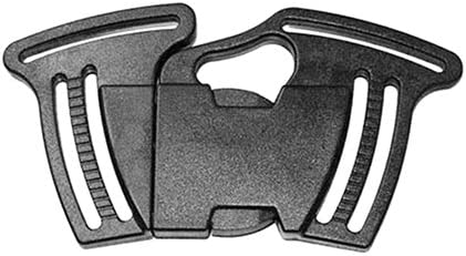 2pcs 1-1//2 Plastic 4 Way Multi Side Release Buckles Grimloc Web Dominator Tactical Backpack Carabiner Webbing Pipe Clips Outdoor Travel Paracord Bracelet