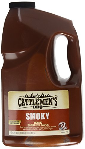 Cattlemen's Texas Smoky Base Barbecue Sauce, 152 Ounce (Bbq Homemade Sauce)