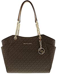 Jet Set Travel Large Chain Shoulder Tote