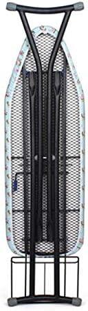 Planche À Repasser Manche En Fer Réglé Hauteur Réglable 90x30 Cm Surface, Bleu