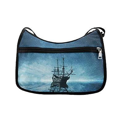 20373e965c23 Pirate Ship shoulder crossbody bag messenger bag sling bag shoulder ...