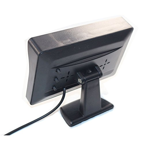 4.3'' High Resolution Car Color TFT LCD Camera Monitor 2 Video Input New Screen by Movka (Image #2)