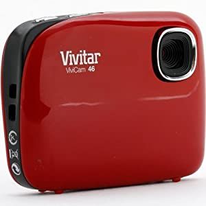 Vivitar 4MP Digital Camera with 1.5 Inch LCD Screen