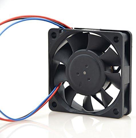 MEOLY Meglev Fan Cooling Fan 2406GL-04W-B39 DC Brushless Fan 12V 0.18A 3 Wire Connector Graphics Card Fan 606015mm