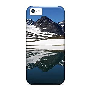 Durable Case For The Iphone 5c- Eco-friendly Retail Packaging(tarfala Valley Sweden)
