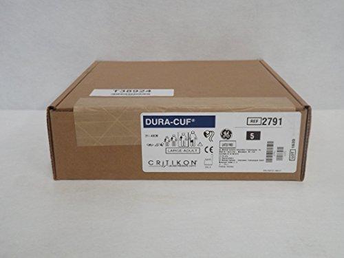 Lot of 5 GE Critikon 2791 Large Adult Long DURA-CUF Blood Pressure Cuffs 31-40cm T38924