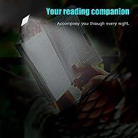 H.Y.FFYH Lámparas LED LED Libro de Lectura Luz Clip Flexible ...