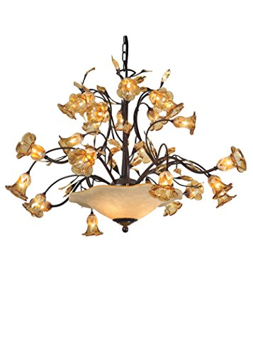 Meyda Tiffany 82760 Celestial Bouquet 24 Arm Chandelier, 40