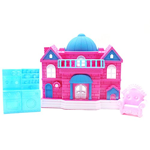 Delights Pet Retreat Sweet House Toy Big Family House Castle For Little Pet Shop ()