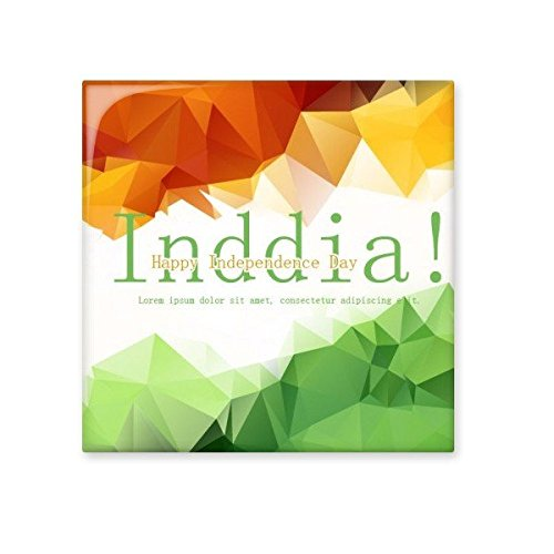 high-quality India Flavor Flag and Independence Day Watercolor Illustration Ceramic Bisque Tiles for Decorating Bathroom Decor Kitchen Ceramic Tiles Wall Tiles