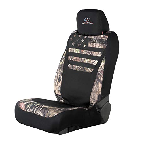 Mossy Oak Low Back Camo Seat Cover | Country/Stripes | Single