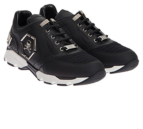 Black Plein nickel Philipp Sneakers Hanzo Herren WIFqqdA