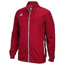 Adidas Mens Climalite Utility Jacket M Power Red-white