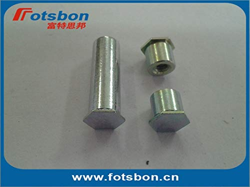 Nuts BSO-M6-10 Blind Hole Standoffs, Carbon Steel, zinc, in Stock, PEM Standard,